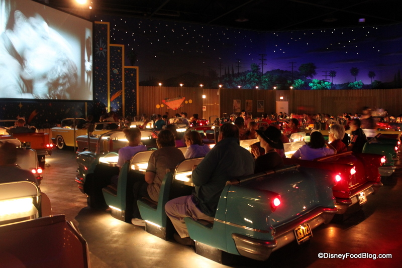 Review Sci Fi Dine In Theaters New Menu The Disney