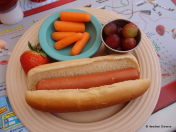 Kids Hot Dog Meal