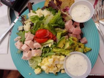 Oscar's Choice: The Cafe Chef Salad