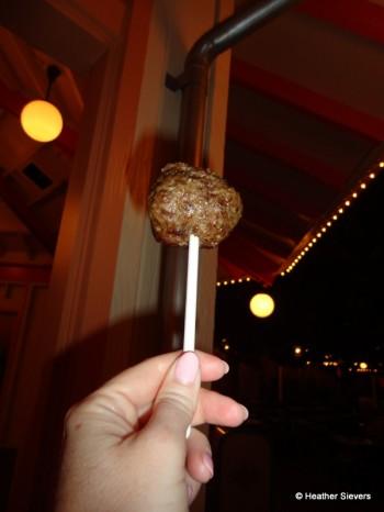 Beef Lollipop!