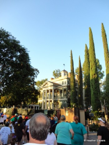 Passing the Haunted Mansion
