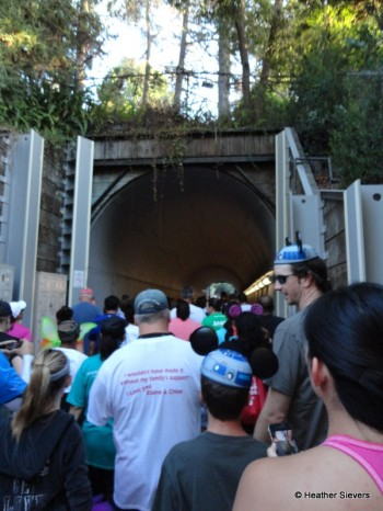 Backstage Tunnel