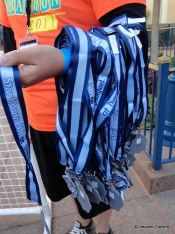 Starspeeder 5K Finisher Medals