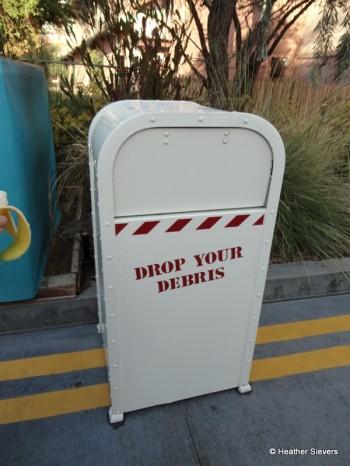 A Place to Drop Your Debris...
