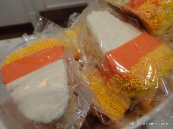 Rice Krispy Candy Corns