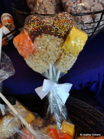 """""""Fall"""" Colors Rice Krispy Bundles"""
