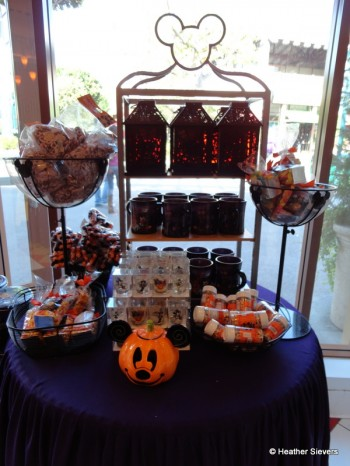 Halloween Merchandise Display