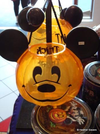 Pumpkin Mickey Trick or Treat Bucket