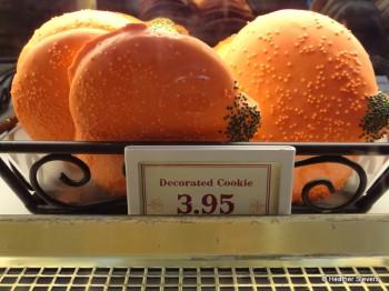 Pumpkin Shortbread Cookie