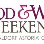 2012 Food and Wine Weekends at Waldorf Astoria Orlando
