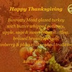 Disney World's Raglan Road Offers Special Thanksgiving Meal