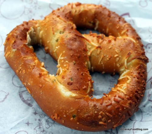 Jalapeno Cheese Pretzel