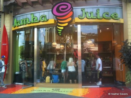 Jamba Juice in Downtown Disney
