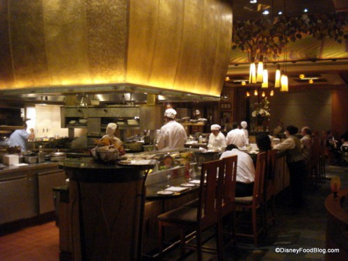 Napa Rose Chef's Counter