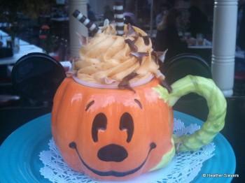 Hazelnut Tiramisu Topped with Pumpkin Mousse