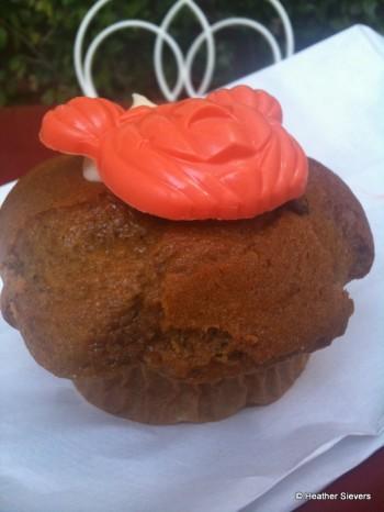 Pumpkin Muffin Side View