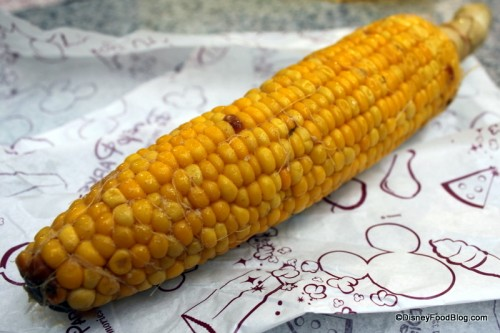 Unwrapped Corn on the Cob