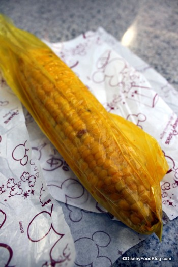 Wrapped Corn on the Cob
