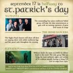 "Celebrate ""Halfway to St. Patrick's Day"" at Raglan Road This Saturday!"