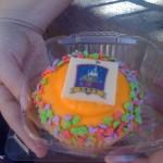 News! Walt Disney World 40th Anniversary Cupcake!