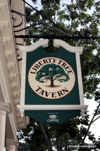 Liberty Tree Tavern in Magic Kingdom