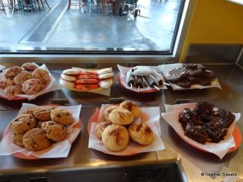 Cookies, Brownies & Fruit Skewers
