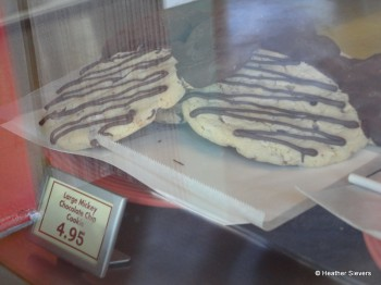 Large Mickey Chocolate Chip Cookies