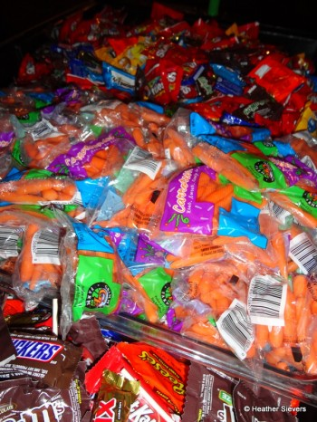 Carrots Amongst the Candy