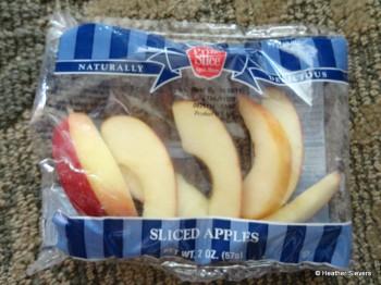 Apple Slices Close Up