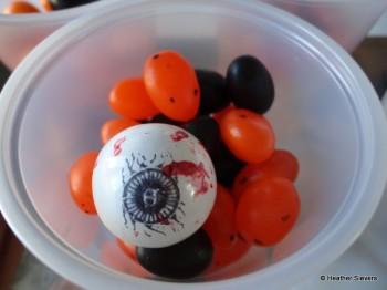 Jelly Beans & A Gumball Eyeball