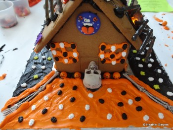 Haunted House Back Yard