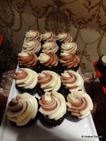 Chocolate Cupcakes with Edible Glitter