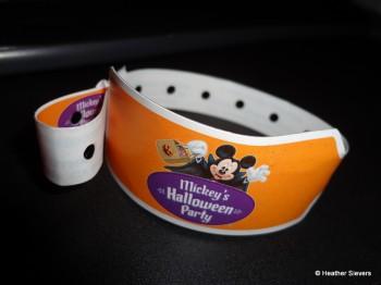 Mickey's Halloween Party Wristband