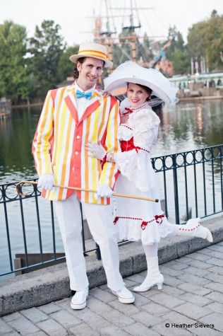 Mary & Bert, I mean Me & My Husband...