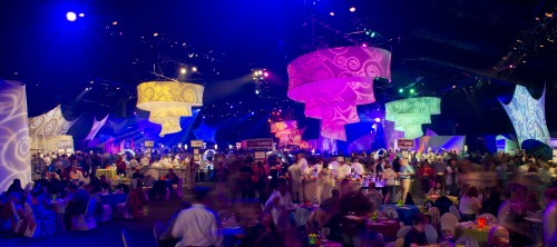 Party for the Senses at World Showplace Pavilion in Epcot (Photo copyright Disney)