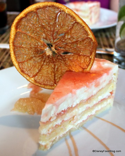 Grapefruit Cake at Hollywood Brown Derby