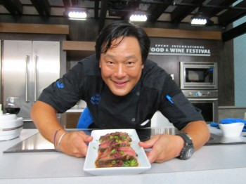 Chef Ming Tsai at the Epcot Food and Wine Festival
