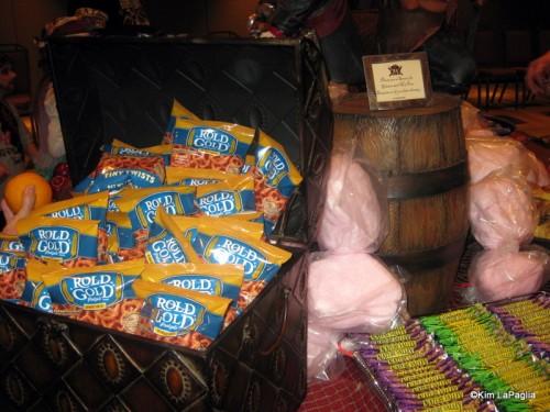 Pretzels and Cotton Candy