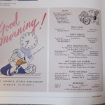 """Disney Food History: """"Good Morning! What's Good About It?"""""""