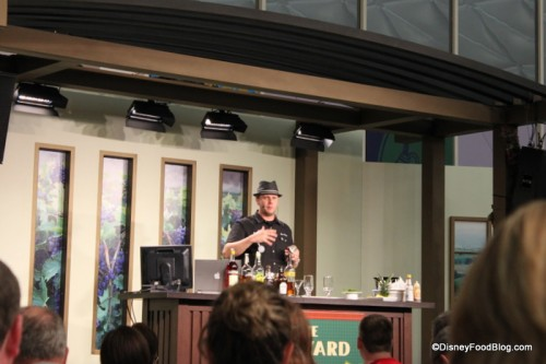 Mixology Seminar at the Epcot Food and Wine Festival