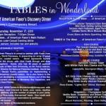 Tables in Wonderland: November 2011 Event
