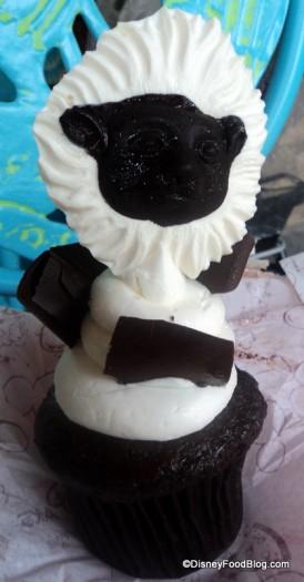 cottontop tamarin cupcake front