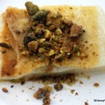 Epcot Food and Wine Festival Recipe: Griddled Greek Cheese with Pistachios and Honey from Greece