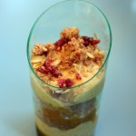 Disney Holiday Recipe: Pumpkin Mousse Trifle with Cranberries and Apricot-Orange Sauce