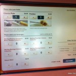 Touch-Screen Ordering at Food and Wine Festival Booth…Trial Run for Next Year?