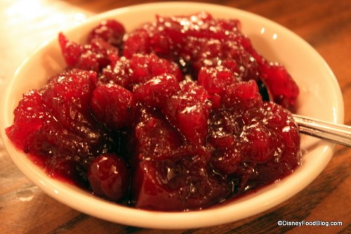Cranberry Sauce at Liberty Tree Tavern