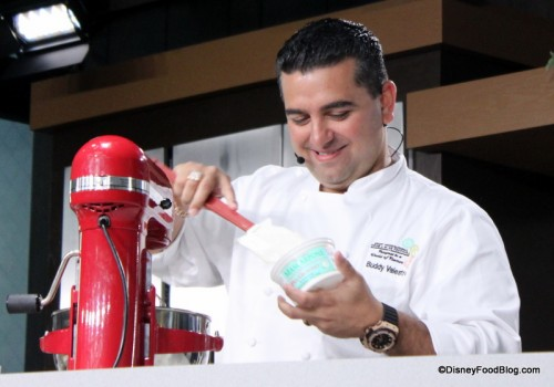 Buddy Valastro returns to the Food and Wine Festival