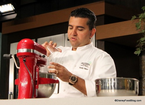 Buddy Valastro at a 2011 Culinary Demonstration