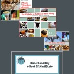 Disney Food Blog e-Book Gift Certificates = Perfect Holiday Gift!