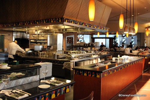 Restaurant Kitchen Grill review: california grill | the disney food blog
